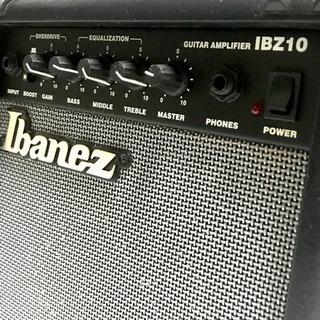 【コンパクトギターアンプ】Ibanez / IBZ10