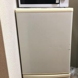 冷蔵庫、洗濯機、電子レンジ