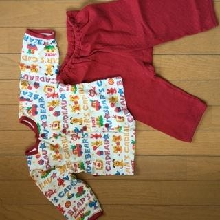 パジャマ 長袖  80