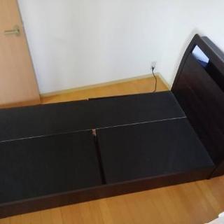 ベッド フレーム 収納 ニトリ シングル
