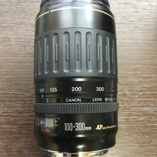 Canon  zoom EF 一眼レフレンズ 100-300mm...