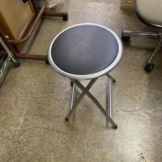 美品 山善 折りたたみチェア スツール  丸椅子 在庫50脚あります。