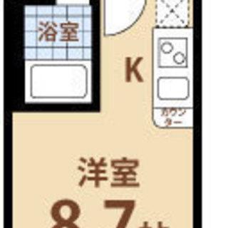 姫里7分 家賃30,000円  共益費7,000円 24.15㎡