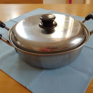 ステンレス浅鍋
