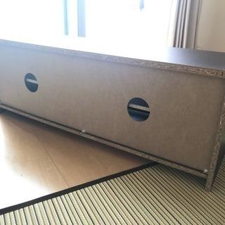 テレビ台 幅約100cm ニトリ ダークブラウン  - 家具
