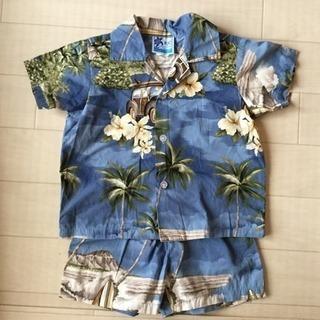 アロハシャツとズボン made in Hawaii