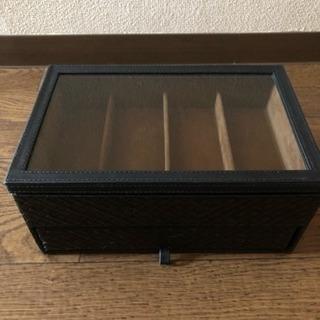【値下】サングラスケース☆腕時計ケース - 家具