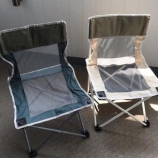 アウトドア用椅子2脚セット