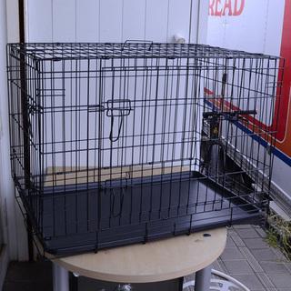 ドッグゲージ  ケージ わりと大型 折り畳み式(02202797...