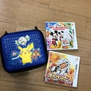 ポケモン、サンとケースと、ディズニー