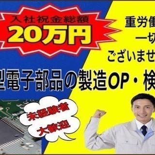 【FC10216y】最短即日!【小型電子部品の製造オペレーター】...
