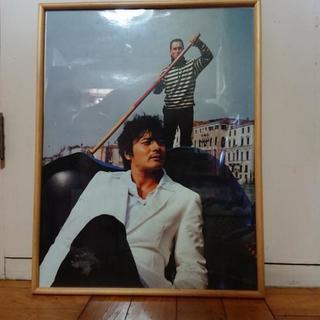 チャン・ドンゴンのサイン入りポスター写真(お値下げ)