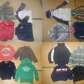 子供服 夏~冬 63点セットで 100~110サイズ ブランド多数