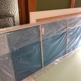 ウッドワンアルミ室内ドア2枚建材未使用