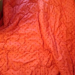 毛布 赤 160×180センチ