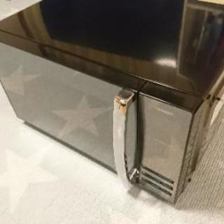 2017年製 ツインバード ミラーガラス 電子レンジ