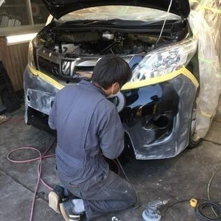 板金塗装 パーツ取り付け 車検代行名 修理 等々