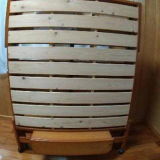 中居木工のヒノキベッド38000円で購入