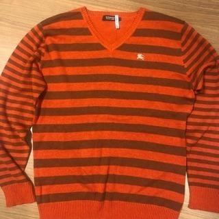 バーバリーブラックレーベル  ニット セーター Lサイズ