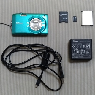 Nikon COOLPIX S3300(ミントグリーン) ※SD...