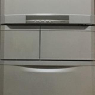 三菱 ノンフロン冷凍冷蔵庫 415L [切れちゃう冷凍]