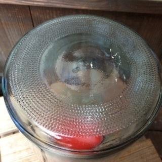 昭和レトロ♢昔の海苔のガラス瓶 メダカ鉢にも - 生活雑貨