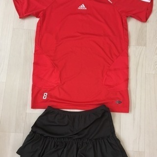 adidas ユニフォーム スカート