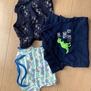 美品☆UNIQLO、Baby GAP男の子半袖ボディスーツ&靴下