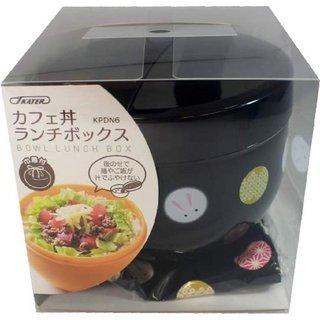未使用美品 スケーター カフェ丼 ランチボックス 560ml 巾...