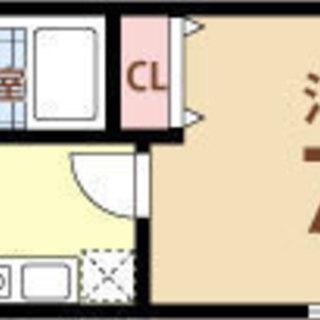 福島5分 家賃25,000円  共益費5,000円 18.4㎡