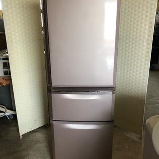 🌈値下げ‼️可愛いピンク色3ドア冷蔵庫製氷機付き☝️😊