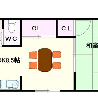 【バンシャトー】1号タイプ!1LDKタイプ!安くて広い!