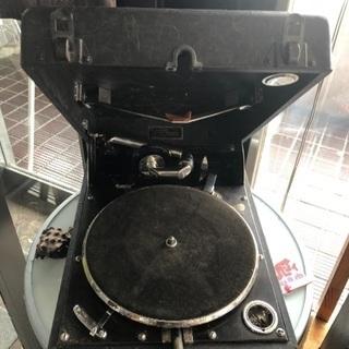 ポータブル蓄音機 コロムビア