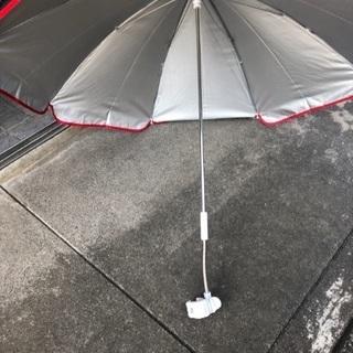 【日傘にも使えます 美品】キャプテンスタッグ パラソル