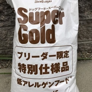 ★残1袋★ドッグフード・スーパーゴールド 15kg★子犬・成犬用★