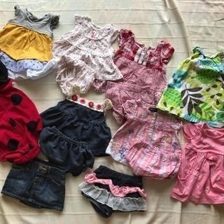 中古  子供服   まとめ売り 女の子 70 80