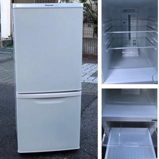 🚛 配達可能🔹 パナソニック2ドア冷蔵庫138L・ホワイト✨