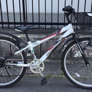 <美品車>24インチ・ジュニア自転車・ベネトンフォーミュラ1 外...