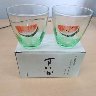 片岡鶴太郎 オリジナルペアグラス