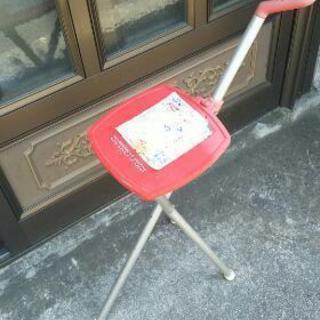 折りたたみステッキ椅子