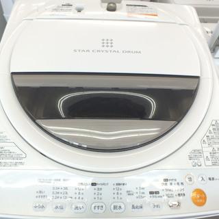 手稲リサイクル 東芝 6.0Kg 2013年製洗濯機AW-…
