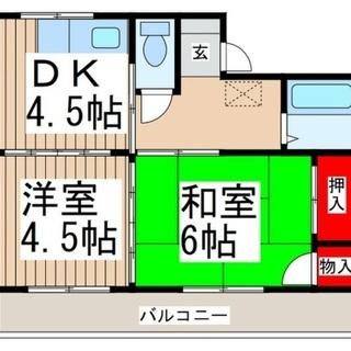 【初期費用0円】リフォーム済できれいな室内!イオン与野店スグ!広~...