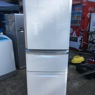 三菱 3ドア冷蔵庫 335L 自動製氷 2013年製 引取歓迎 ...