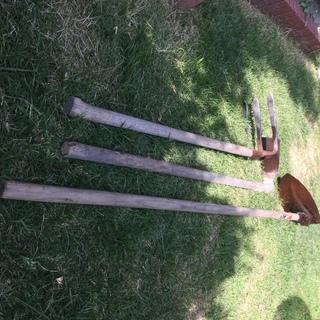 鍬(くわ)3種
