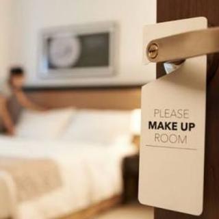 ホテルの清掃業務
