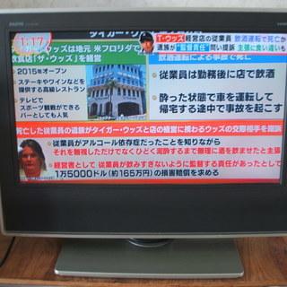 三洋電機地上・BS・CS液晶テレビ(20インチ)