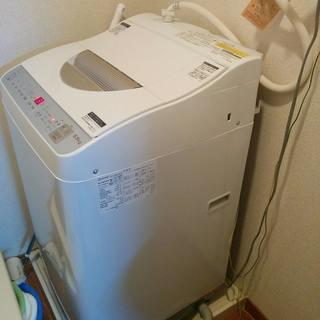 一人暮らしに最適!タテ型全自動 乾燥機付き洗濯機5.5kg