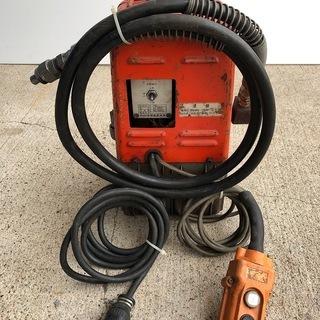 電動式油圧ポンプ リモコン付 IZUMI 泉精器 R14E-F 中古品