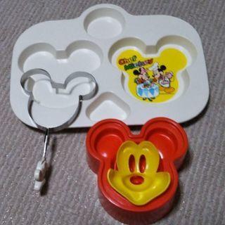 ミッキーマウスのランチプレート