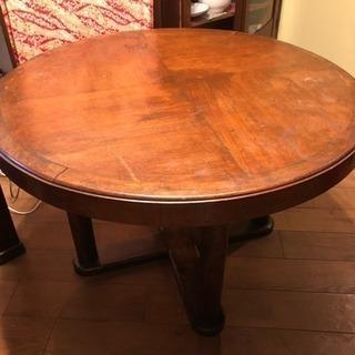レトロな丸机/カフェテーブル/ディスプレイ・テーブル